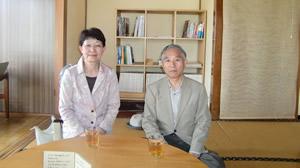 小林一郎先生、玲子先生
